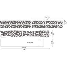 DYEDBRO K Mack Animal Print Frame Protection Kit, przezroczysty/biały